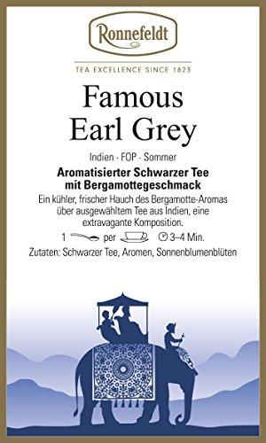 Ronnefeldt - Famous Earl Grey - Aromatisierter Schwarzer Tee - 100g