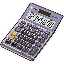 Casio MS-80VERII-S-EC - Calculadora básica, 30.7 x 103 x 145 mm, color azul