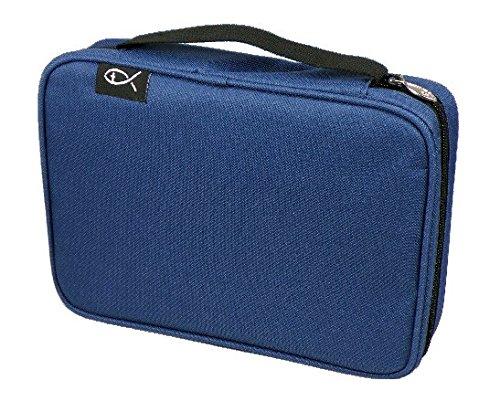 MaMeMi Bibeltasche XL 25x17x5,5cm, blau (Tragetaschen Bibel-taschen Und)