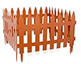 Giardino recinto Friese recinzione ornamentali recinzione L: 3,20m H: 27cm terracotta