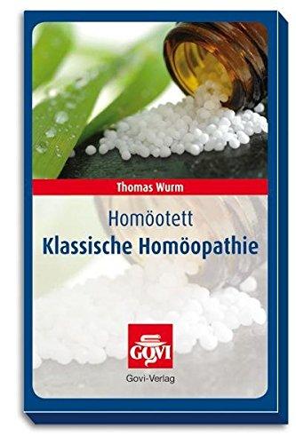 Preisvergleich Produktbild Homöotett - Klassische Homöopathie
