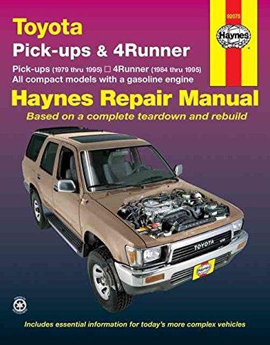 [Toyota Pick-ups and 4-runner Automotive Repair Manual] (By: John B. Raffa) [published: September, 1988]