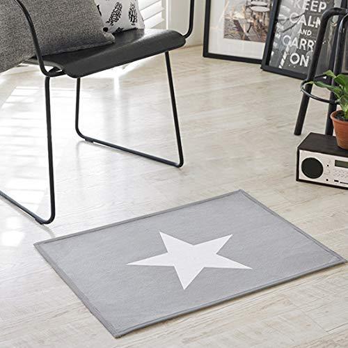 lindong baño estrella Diseño suave alfombra antideslizante Felpudo C