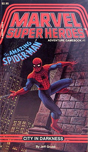 The Amazing Spider-Man: City in Darkness (Marvel Super Heroes Adventure Gamebook, No 1) par Jeff Grubb