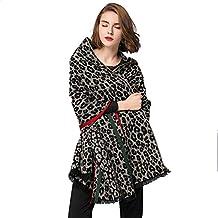 Chales Mujeres Largo mantón Elegante Leopardo Grano Cebra Rayas Impresa Bufanda Abrigo Ligero Envolturas para Vestidos