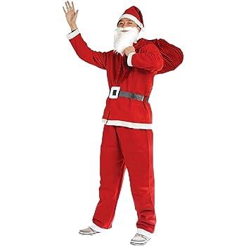 Déguisement Père Noël adulte Taille Unique  Amazon.fr  Jeux et Jouets 82a30bf352fc
