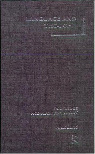 Language and Thought (Routledge Modular Psychology)