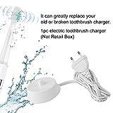ZUNTO oral b ladestation kompatibel Haken Selbstklebend Bad und Küche Handtuchhalter Kleiderhaken Ohne Bohren 4 Stück