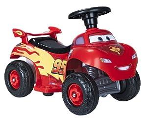 Feber team Quad Cars Lightning McQueen 6V - Quad con motor y batería de 6v (2 km/h, 64 x 43 x 57 cm) (Famosa)