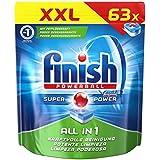 Finish Calgonit, tablettes lave-vaisselle, XXL Pack, 63tout en 1tablettes