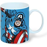 Marvel - Retro Comic Tasse Geschenktasse (Captain America)