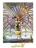 Salvador Dalí Poster/Kunstdruck Santiago el grande 60 x 80 cm