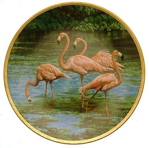 The Bradford Exchange W S George der Flamingo die eleganten Vögel James Faulkner cp2297 -