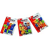 Magnetic Learning Alphabets And Numbers - Educational Magnet Set For Kids 65 Pieces