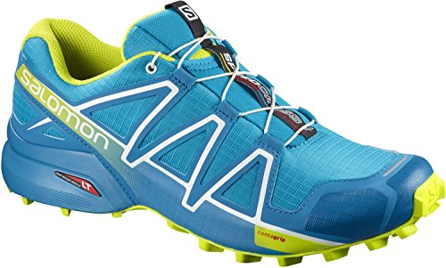 Salomon Speedcross 4 - Hawaiian surf/Acid Lime/White