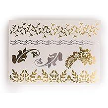 NEU zum Probierpreis | Hair Tattoo Butterfly | Schmetterlinge für die Haare | Temporäres Hair Tattoos 7 bunten Motiven | Weitere Designs verfügbar | Original POSH Tattoo®