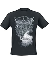 Game of Thrones House Stark - Winter Is Coming T-Shirt black