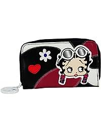Betty Boop Maxi Portefeuille Petit Pour Femme Porte-Monnaie Cartes Pochette