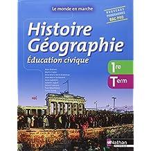 Histoire- Géographie- Education civique -1re/ Term Bac Pro
