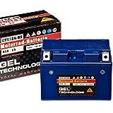 Panther Motorradbatterie Gel 12V 10Ah 51013 YTX12A-BS