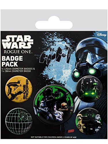 Preisvergleich Produktbild Star Wars Rogue One - Empire Button-Pack Standard