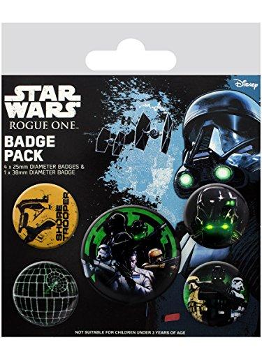Preisvergleich Produktbild Star Wars Rogue One - Empire Button-Pack Standard