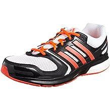 Zapatillas Adidas Questar Boost M -Blanco/Rojo-