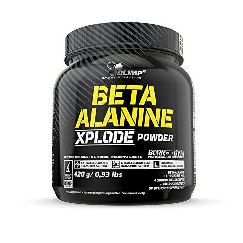 Olimp Beta-Alanine Xplode Powder | Aminosäuren, Beta-Alanin | Pre Workout Boost | Orange Geschmack | 420 g -