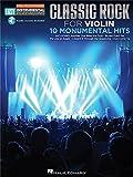 Violin Easy Instrumental Play-Along: Classic Rock. Partitions, Downloads pour Violon