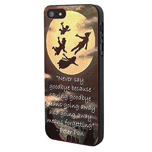 peter-pan-quote-grow-up-oc-custom-case-black-iphone-5-5s