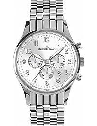 Jacques Lemans London 1–1616e Herren-Chronograph Metall Armband Armbanduhr