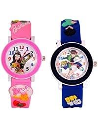 PRIMESHOP Analogue Watch for Boys and Girls -Combo Pack of 2