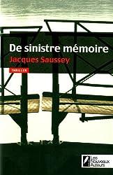 DE SINISTRE MEMOIRE