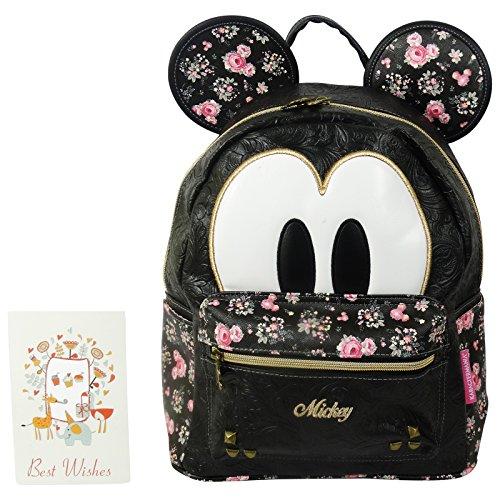 Disney Mickey Bouquet Zaino da Donna Morbido Borsa a Spalla Tempo Libero