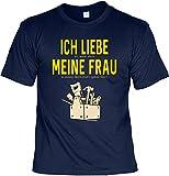 Rahmenlos Design T-Shirt Motivshirt Urkunde Geschenk-Set - Ich Liebe es, Wenn Mich Meine Frau in Meine Werkstatt Gehen Lässt, Größe:3XL