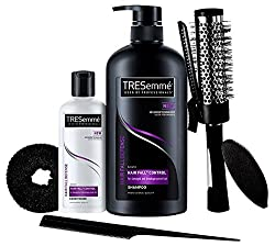 TRESemme Free Hair Styling Kit Worth Rs.500 with Hair Fall Defense Shampoo, 580ml and Conditioner, 85ml