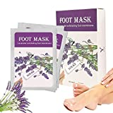 Fuß Peeling Maske Peeling High-Effekt Lavendel 2 Paar In einer Box, lassen Füße Haut weich und glatt