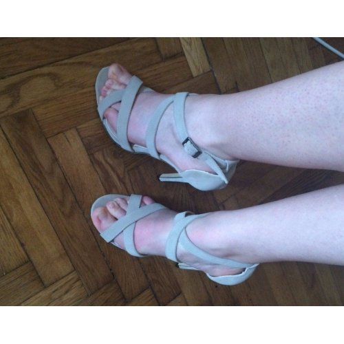 Luce La Moda Cinghie Blu Sandali Di Spalline Tacco Donna Alta Comode Angatrade Scarpe La 2016 Di Sera Gala Senza 7O5qw8W6A