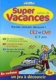 Cahier de super vacances - Du CE2 vers le CM1