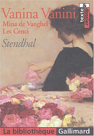 Vanina Vanini - Mina de Vanghel - Les Cenci