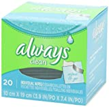 Always Lightly Scented Wipes-To-Go 20 Count (Pack of 4) by Always (English Manual) Bild 5