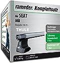Rameder Komplettsatz, Dachträger SlideBar für SEAT Mii (115388-10094-2)