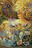 Josephine Wall – Crystal of Enchantment Poster Drucken (60,96 x 91,44 cm)