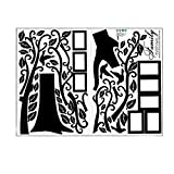 KINTRADE genealogie Abnehmbare wandaufkleber DIY Kunst Vinyl Applique Mural Schlafzimmer Dekoration wandaufkleber