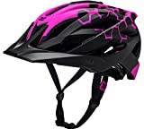 #10: Kali Protectives Lunati MTB Helmet Sting Matte Pink Black S M