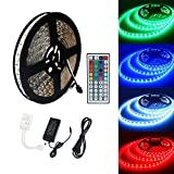 ALED LIGHT 10M 5050 RGB 600 LED-Kamera-LED-Farbe mit LED con 44 IR remoto + 24V 3.5A AC EU-Stecker-Adapter-Lampe für Be