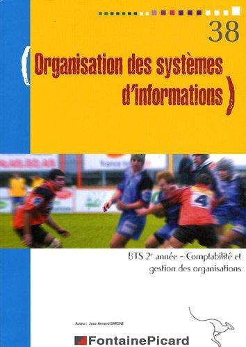 Organisation des systèmes d'informations BTS CGO 2e année