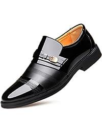 15f4258a1 Zapatos De Cuero De Vestido De Negocios De Cuero Genuino De Los Hombres  Zapatos De Boda De Los Pies Zapatos De Hombre De…