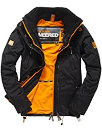 SUPERDRY Polar Wind Attacker, Abrigo Impermeable Para Hombre