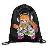This bag can hold a pair of shoes, an umbrella, a few books and etc..These drawstring bags are Suitable for Travel, Sports, Gym, Yoga, Running, Training, Swimming, Dance, Shopping and so on in daily life. beach etc. Idea gifts for kids' birthday part...